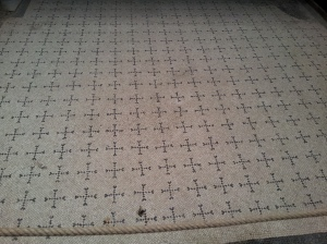 "Original ""Tile-it-Right"" Ercolano Vinyl Flooring Display Showroom"